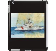 USCGC Alert Nautical Chart Map Cathy Peek  iPad Case/Skin