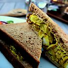 A Coronation Chicken Sandwich by rsangsterkelly