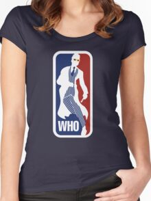 WHO Sport No.10 Women's Fitted Scoop T-Shirt
