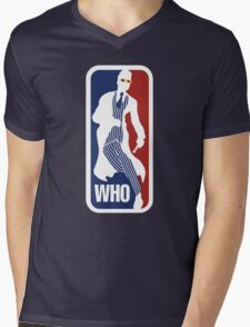 WHO Sport No.10 Mens V-Neck T-Shirt