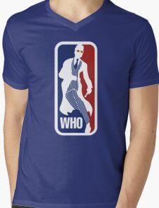 WHO Sport No.10 Mens V-Neck T-Shirt