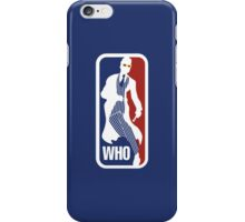 WHO Sport No.10 iPhone Case/Skin