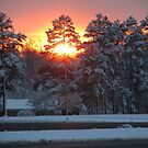 Sunset Into the Snow by Jaclyn Hughes