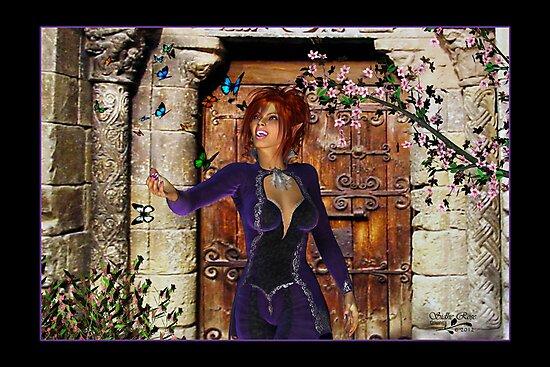 Rhona (Butterfly Girl) by Rayvn Navarro