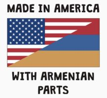 Made In American With Armenian Parts Baby Tee