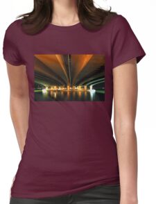 under the narrows.  perth, western australia Womens Fitted T-Shirt