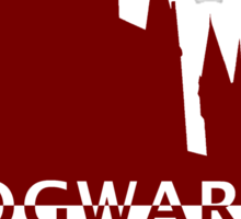 Hogwarts Will Always Be There To Welcome You Home (Gryffindor Scarlet) Sticker