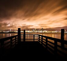 Seattle Skyline by BobbiFox