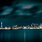 Seattle Night by BobbiFox
