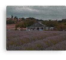 La casa de Té Lavanda........... Canvas Print