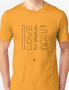 Zeugma (and to dance) | dark text T-Shirt
