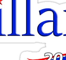 Hillary for President 2016 Sticker