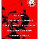 No-Kill United - ES EACH DAY (PRINT) by Anthony Trott