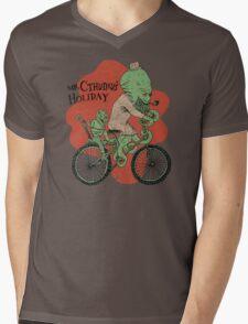 Mr. Cthulhu's Holiday Mens V-Neck T-Shirt