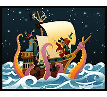 Pirate Monsters Photographic Print