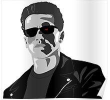 Arnold Schwarzenneger in Terminator Poster