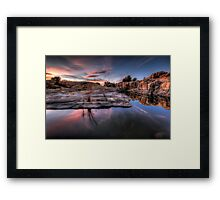 Cove Works Framed Print