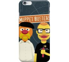 Muppet Busters iPhone Case/Skin