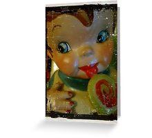 Old Time Cookie Jar Greeting Card