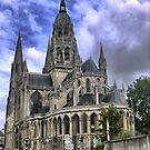 The Bayeux Cathedral (1) by Larry Davis