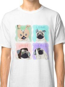 Pug Direction Classic T-Shirt