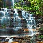 Tiers of Junction Falls by Mark  Lucey