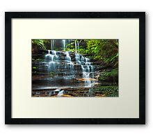 Tiers of Junction Falls Framed Print