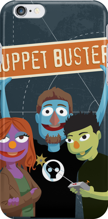 Muppet Busters Build Team by monkeyminion