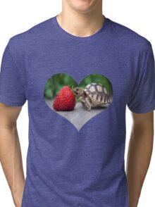 A Turtle Love Affair Tri-blend T-Shirt