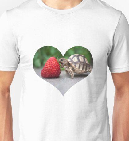 A Turtle Love Affair Unisex T-Shirt