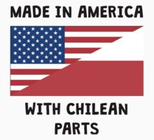 Made In American With Chilean Parts Kids Tee
