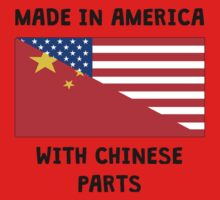 Made In American With Chinese Parts Kids Clothes
