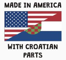 Made In American With Croatian Parts Baby Tee