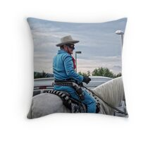 Who was that masked man? Throw Pillow