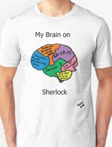My brain on Sherlock Unisex T-Shirt