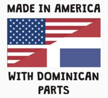 Made In American With Dominican Parts One Piece - Short Sleeve