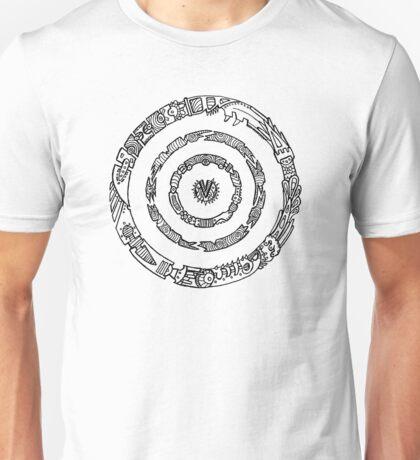 Metal Mandala Unisex T-Shirt