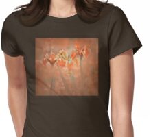 Peach Surprise Womens Fitted T-Shirt