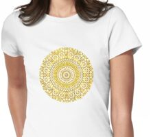 solar plexus Womens Fitted T-Shirt