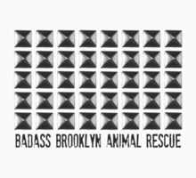 Badass Brooklyn Animal Rescue Studded Tee by badassbk