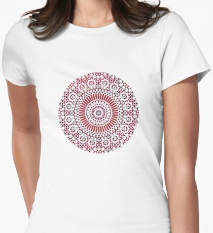 red capricorn Womens Fitted T-Shirt