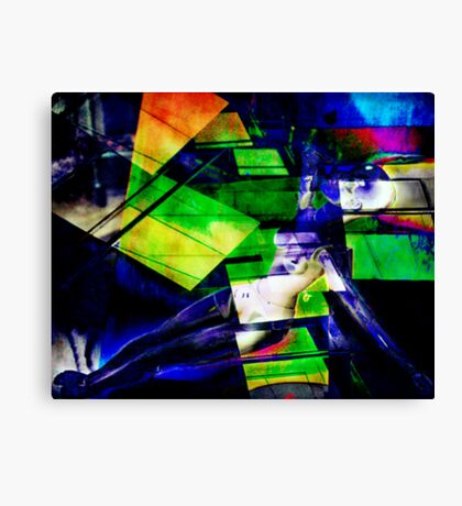 The First Hit Canvas Print