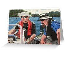 Dick & Thommo at Howqua Greeting Card