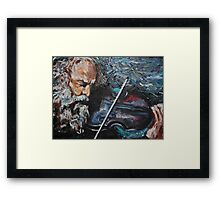 The Touch of the Master's Hand Framed Print