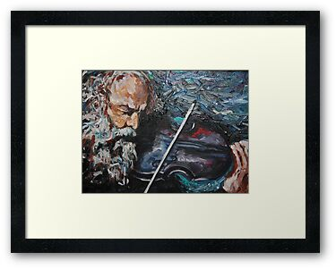 The touch of the master s hand quot framed prints by artbychaune