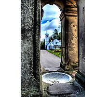 South Park Clock Tower Photographic Print