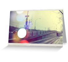 Autobahn Greeting Card