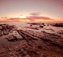 Jamison River Sunrise by ImagesbyDi