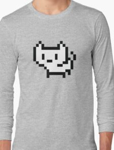 Pixel Cat Long Sleeve T-Shirt