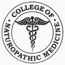 College Of Naturopathic Medicine - Black Logo by daeryk